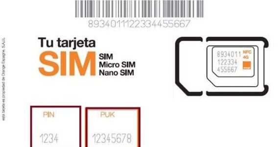 طريقة الحصول على رقم PIN و PUK موبايلي زين اتصالات stc ...